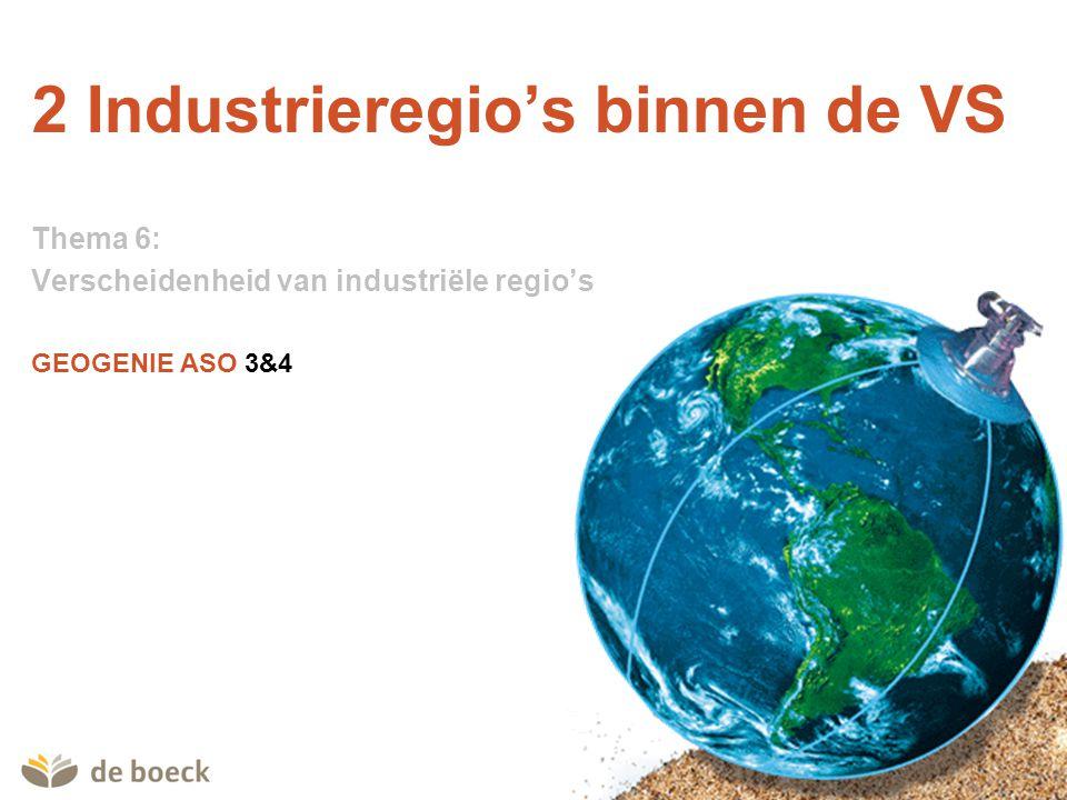 2 Industrieregio's binnen de VS