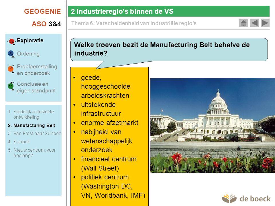 2 Industrieregio s binnen de VS