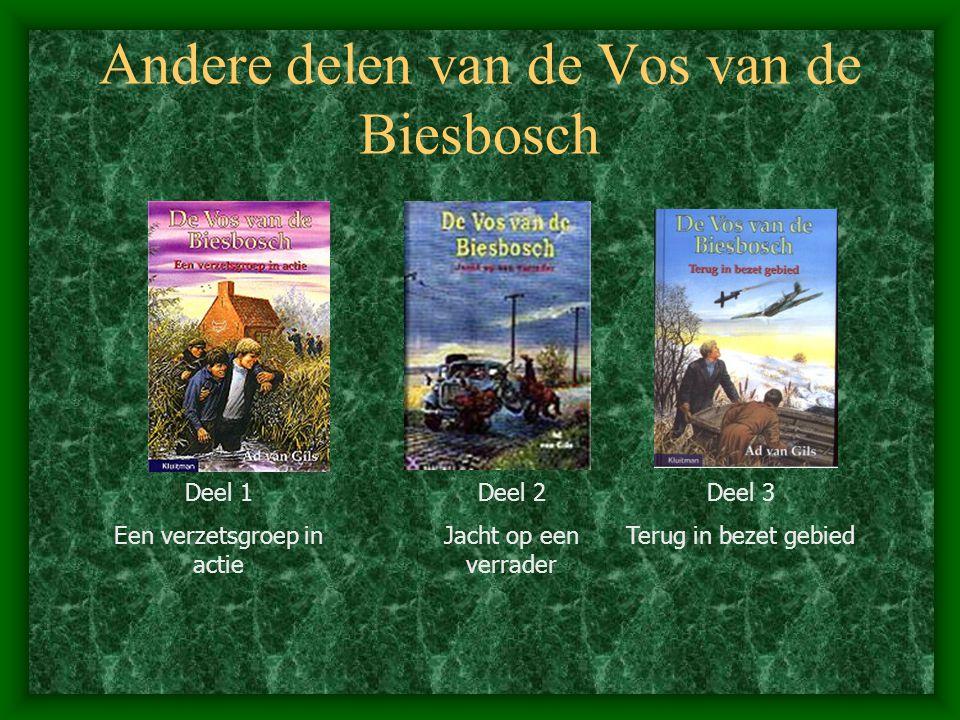 Andere delen van de Vos van de Biesbosch