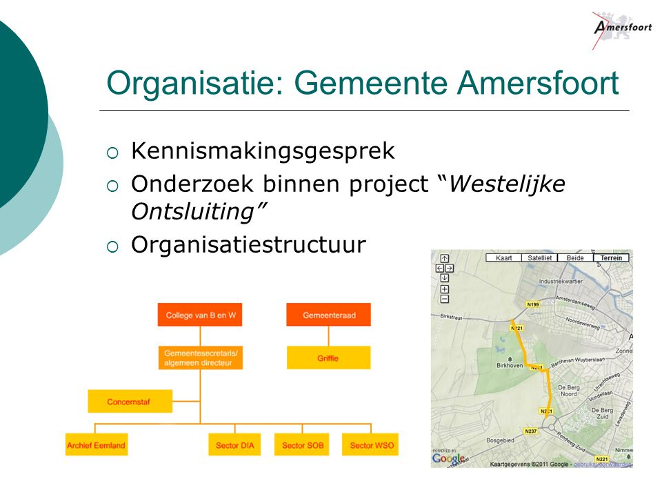 Organisatie: Gemeente Amersfoort