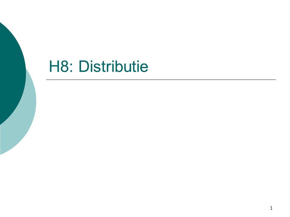 H8: Distributie