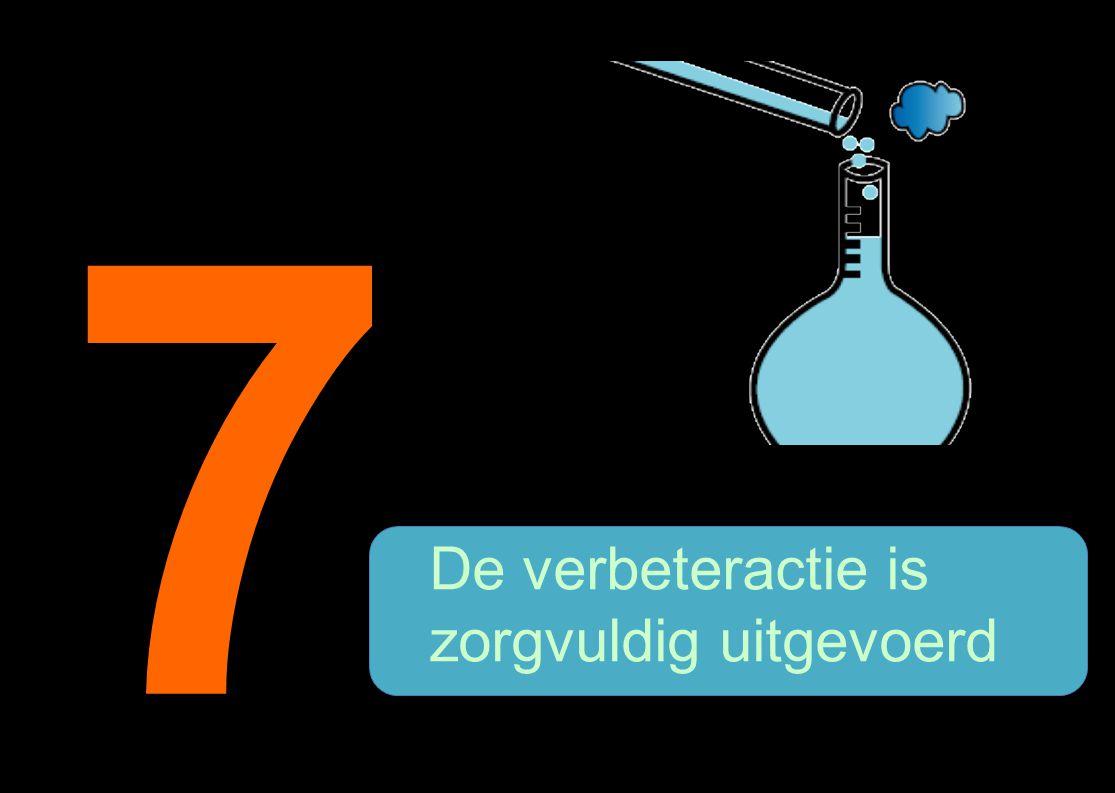 7 De verbeteractie is zorgvuldig uitgevoerd 16