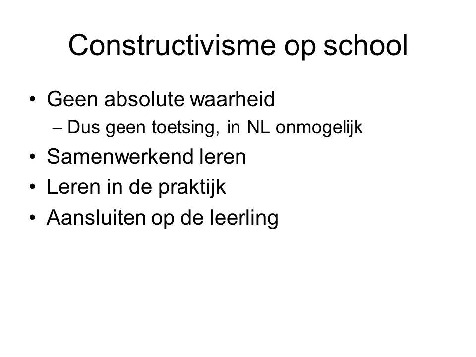 Constructivisme op school