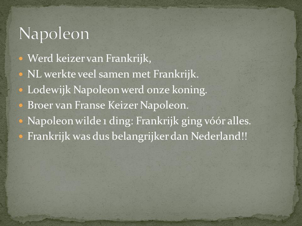 Napoleon Werd keizer van Frankrijk,
