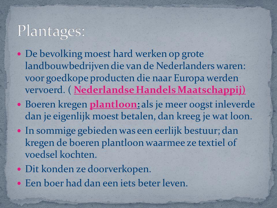 Plantages: