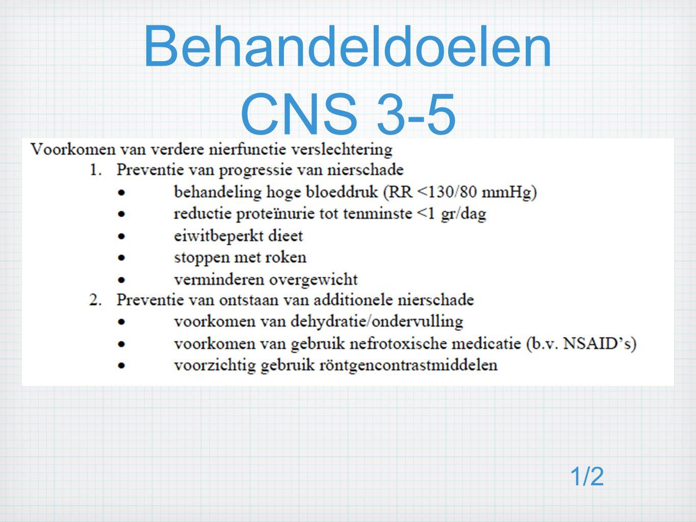 Behandeldoelen CNS 3-5 1/2