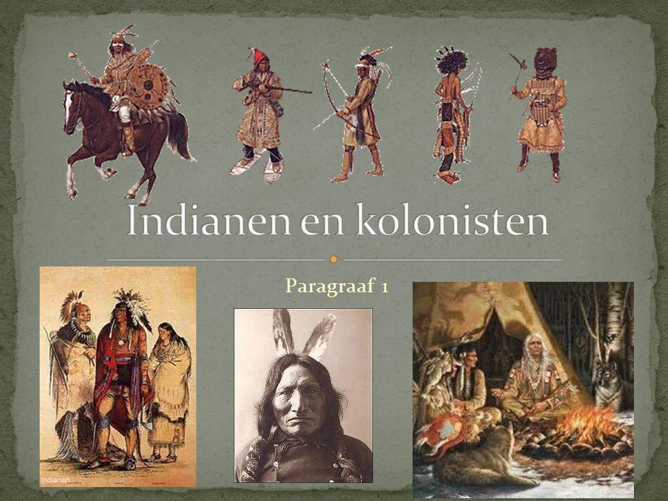 Indianen en kolonisten
