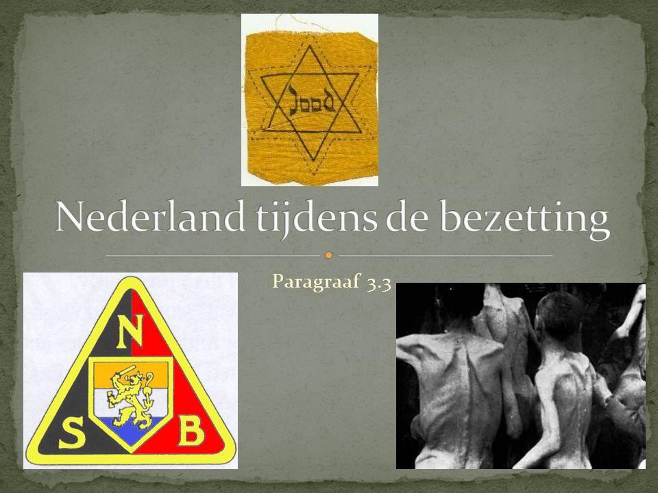 Nederland tijdens de bezetting