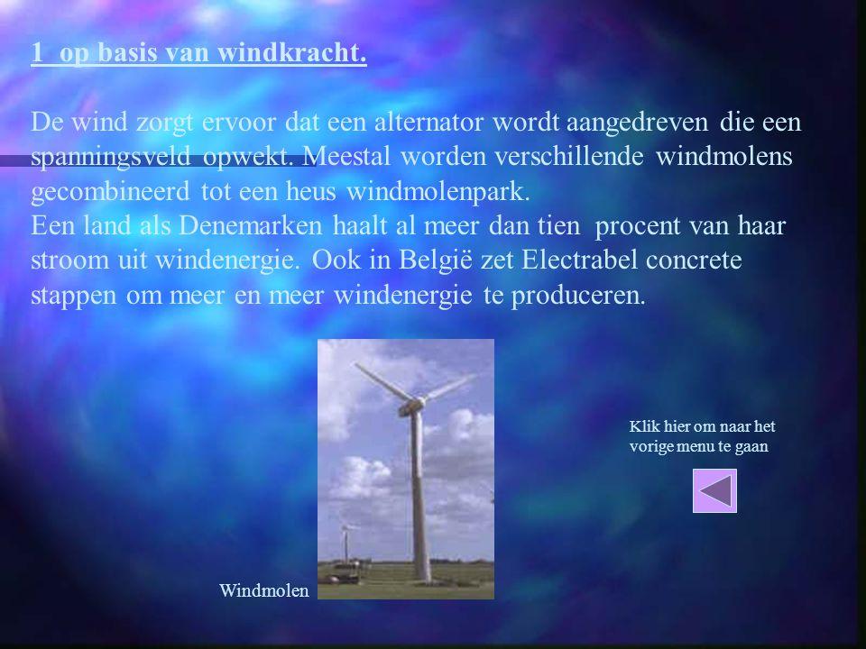 1 op basis van windkracht.