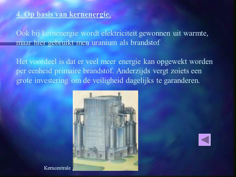 4. Op basis van kernenergie.