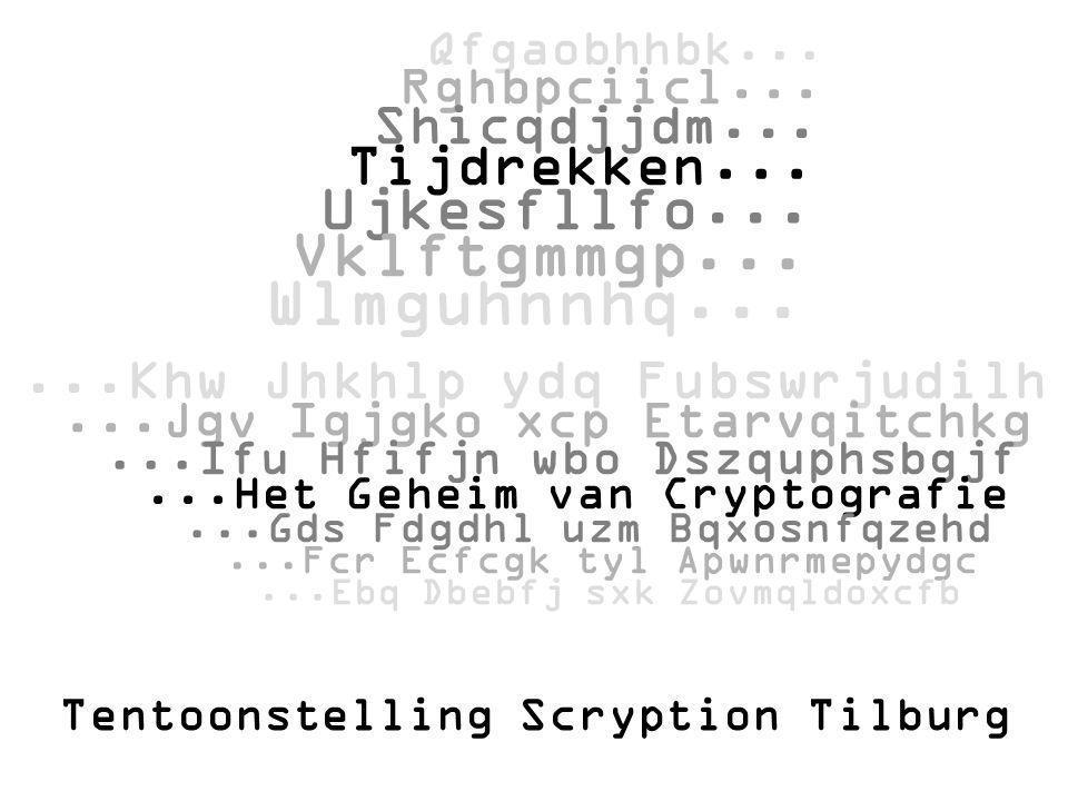 Tentoonstelling Scryption Tilburg