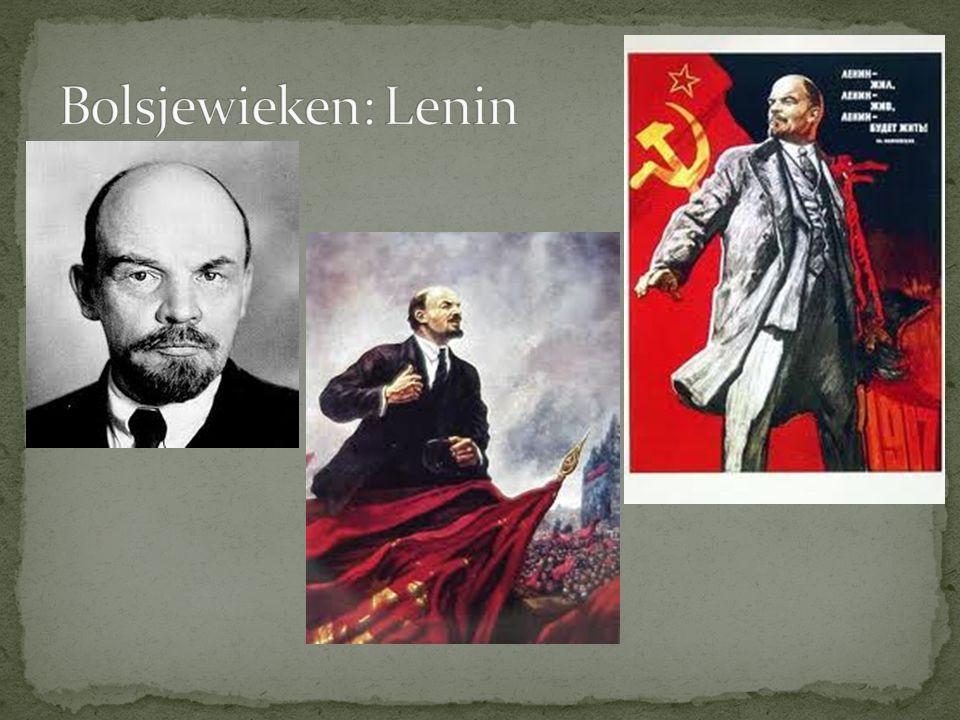 Bolsjewieken: Lenin