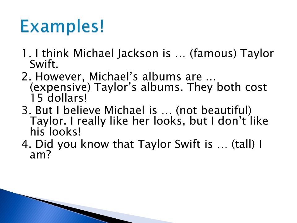 Examples!