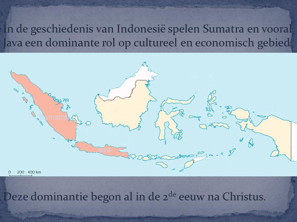 Deze dominantie begon al in de 2de eeuw na Christus.