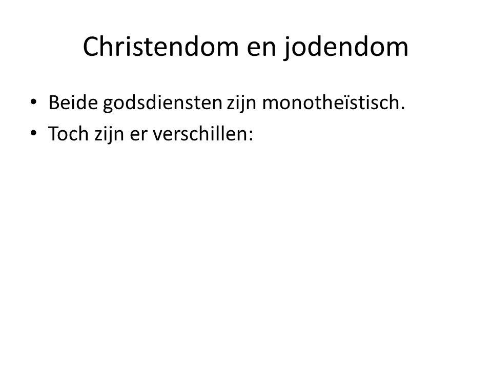 Christendom en jodendom