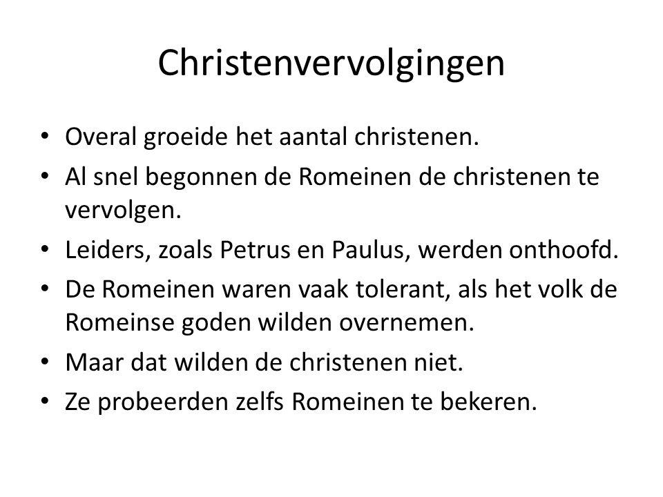 Christenvervolgingen