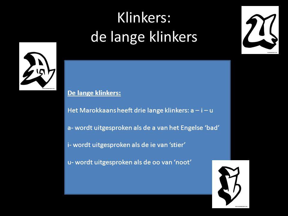 Klinkers: de lange klinkers