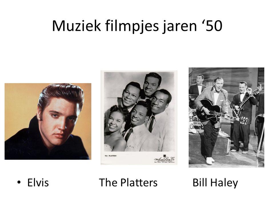 Muziek filmpjes jaren '50