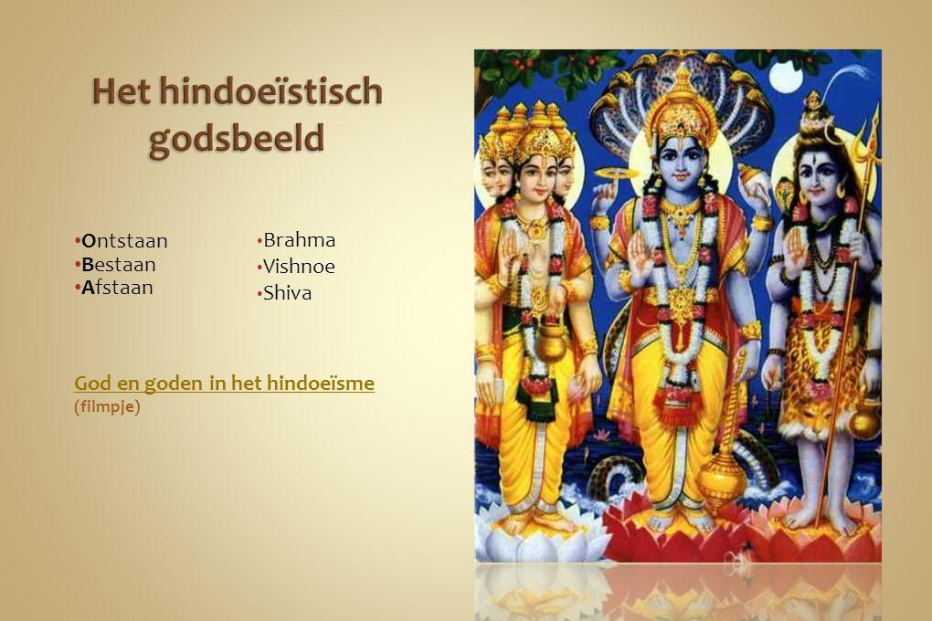 Het hindoeïstisch godsbeeld