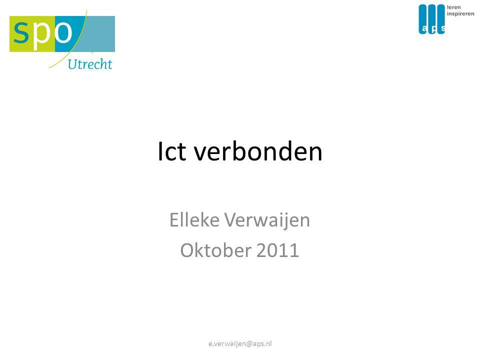 Elleke Verwaijen Oktober 2011
