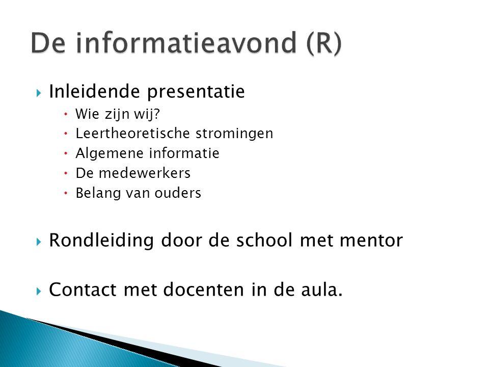 De informatieavond (R)