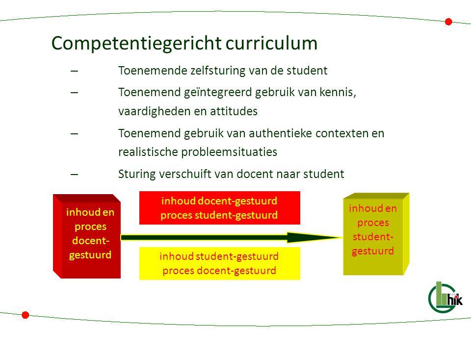 Competentiegericht curriculum