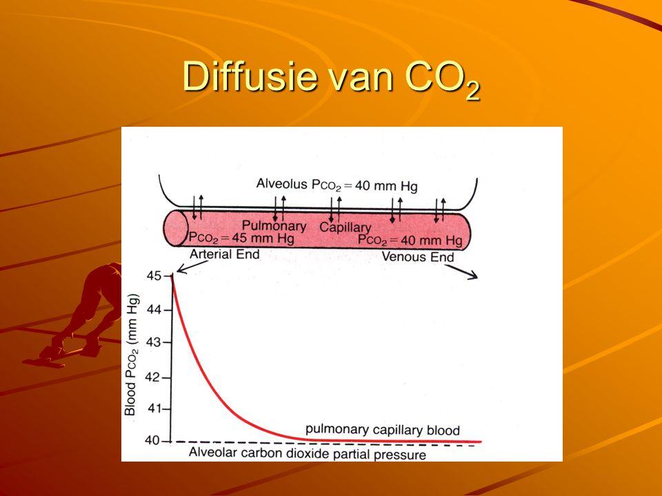 Diffusie van CO2