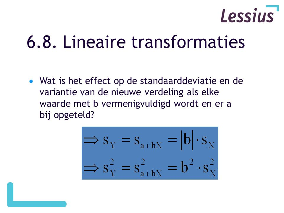 6.8. Lineaire transformaties