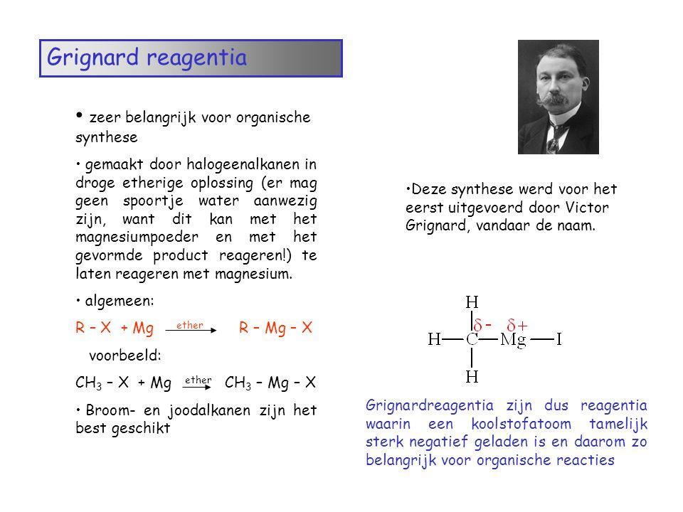 zeer belangrijk voor organische synthese