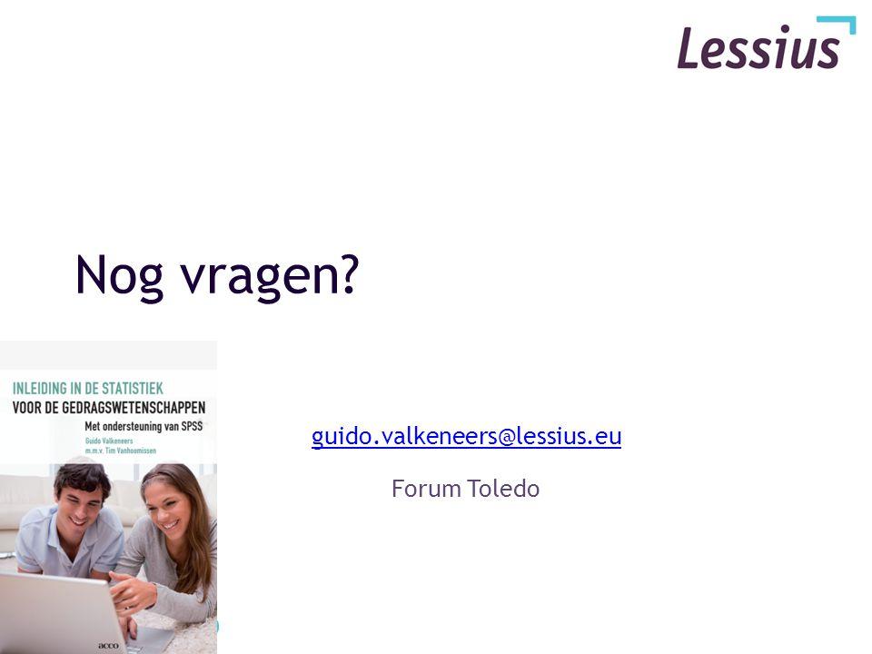guido.valkeneers@lessius.eu Forum Toledo