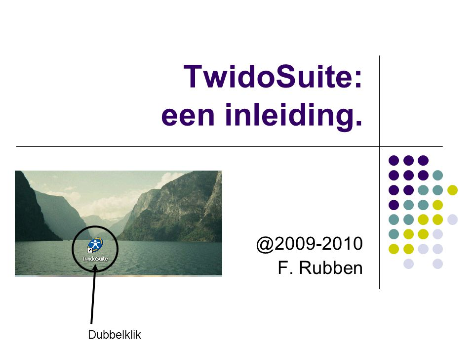 TwidoSuite: een inleiding.