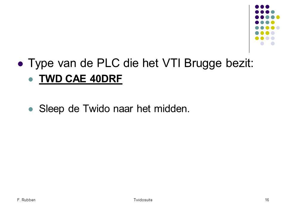Type van de PLC die het VTI Brugge bezit: