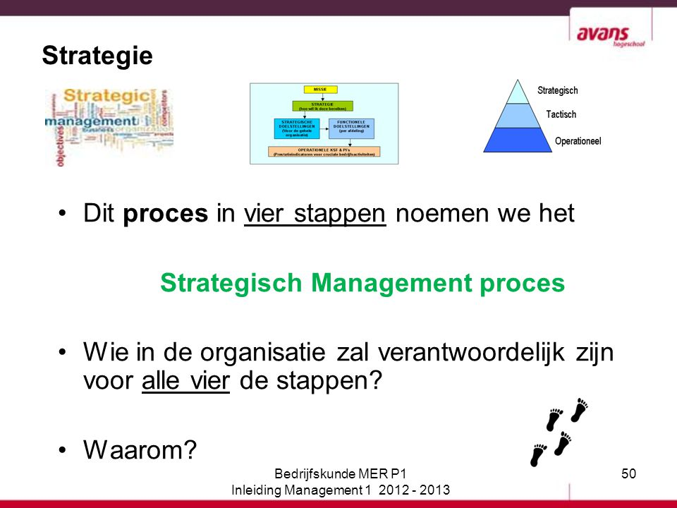 Strategisch Management proces