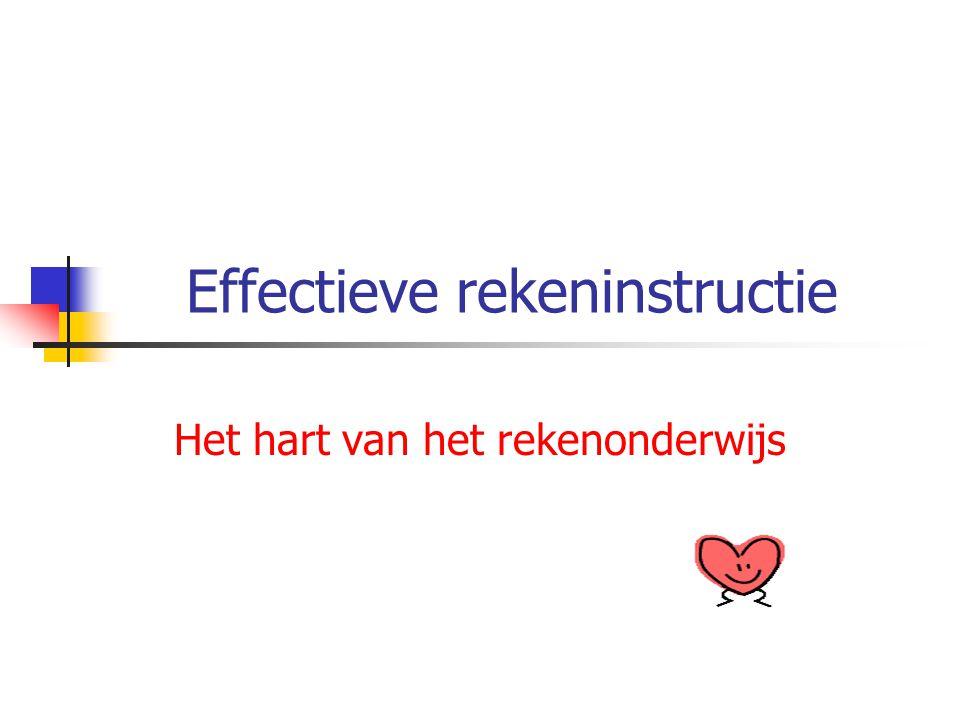 Effectieve rekeninstructie