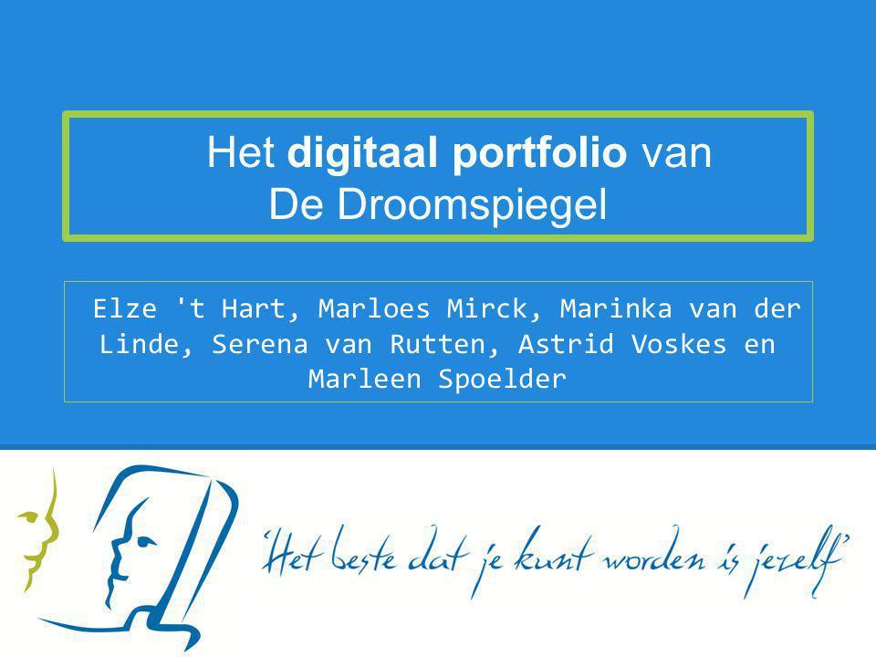Het digitaal portfolio van De Droomspiegel