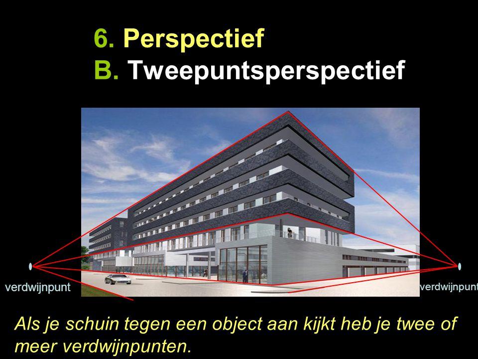 6. Perspectief B. Tweepuntsperspectief