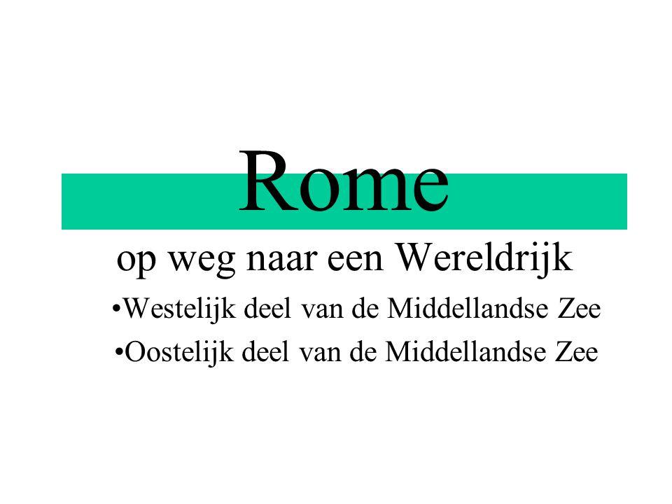 Rome op weg naar een Wereldrijk