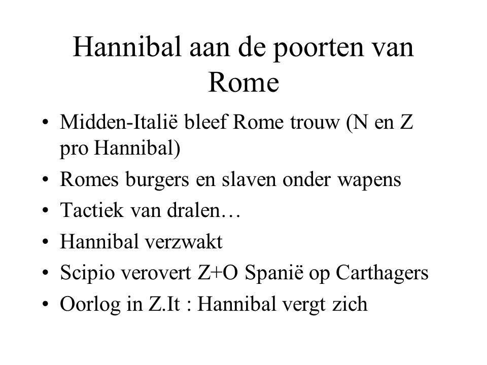 Hannibal aan de poorten van Rome