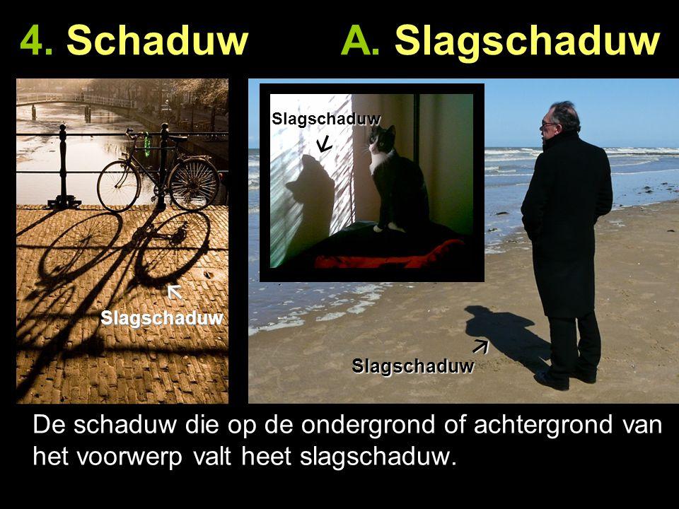 4. Schaduw A. Slagschaduw Slagschaduw. 