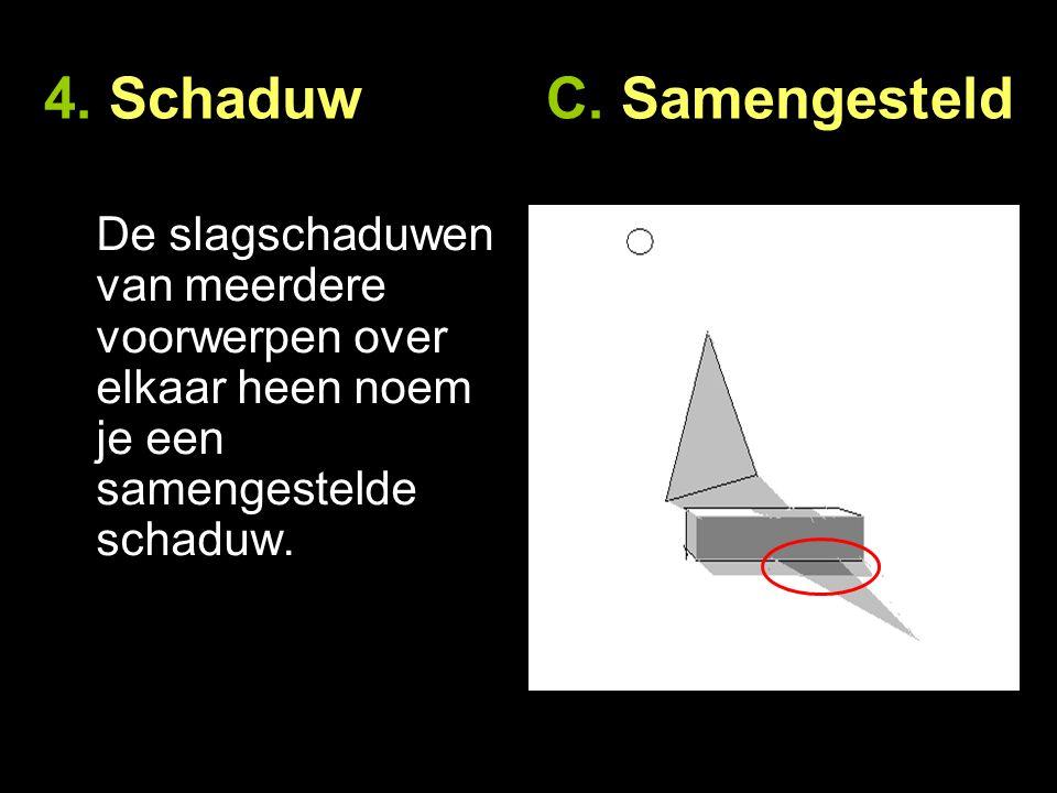 4. Schaduw C. Samengesteld