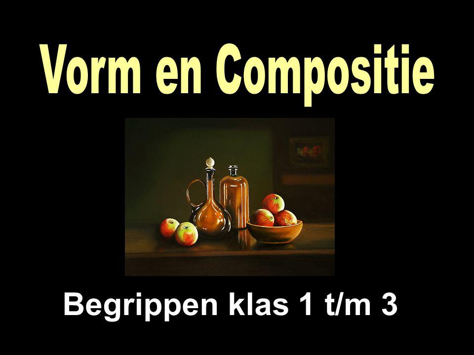 Vorm en Compositie Begrippen klas 1 t/m 3