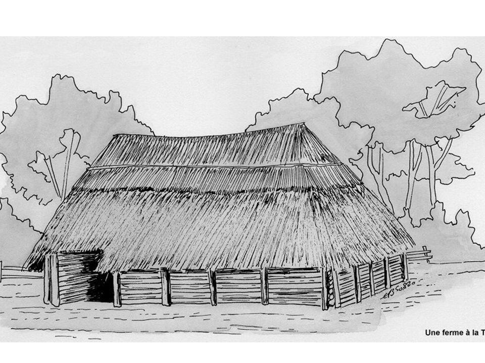 Keltische La Tène boerderij