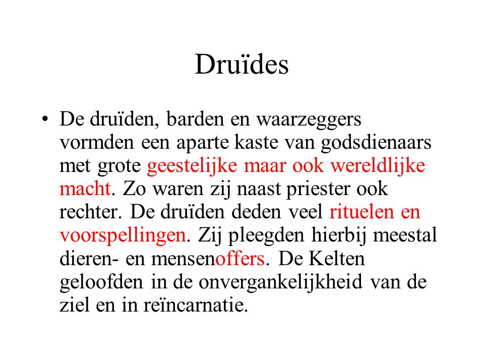 Druïdes