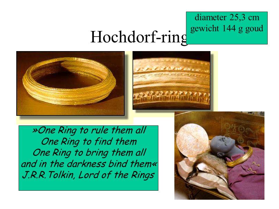 Hochdorf-ring diameter 25,3 cm gewicht 144 g goud