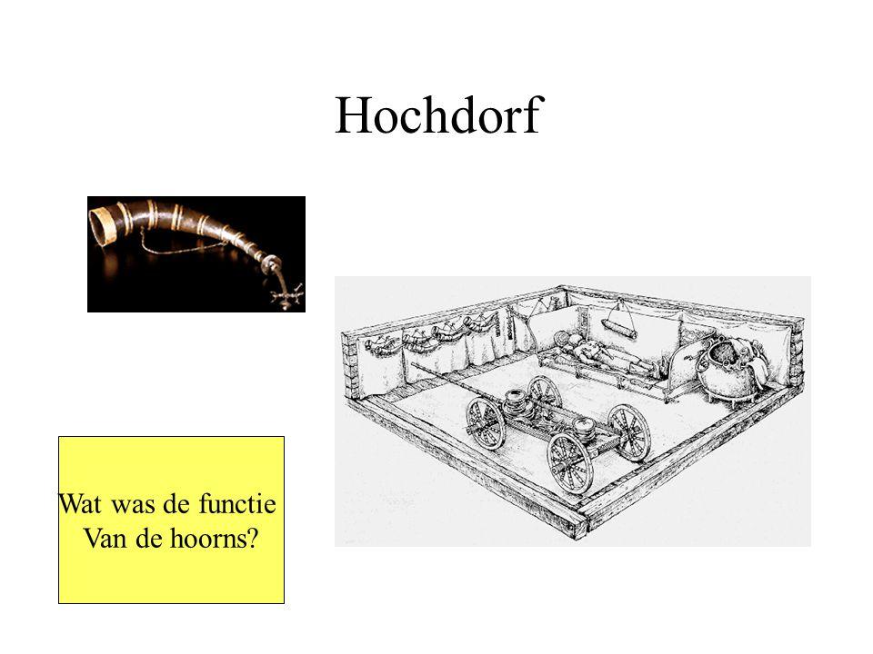 Hochdorf Wat was de functie Van de hoorns