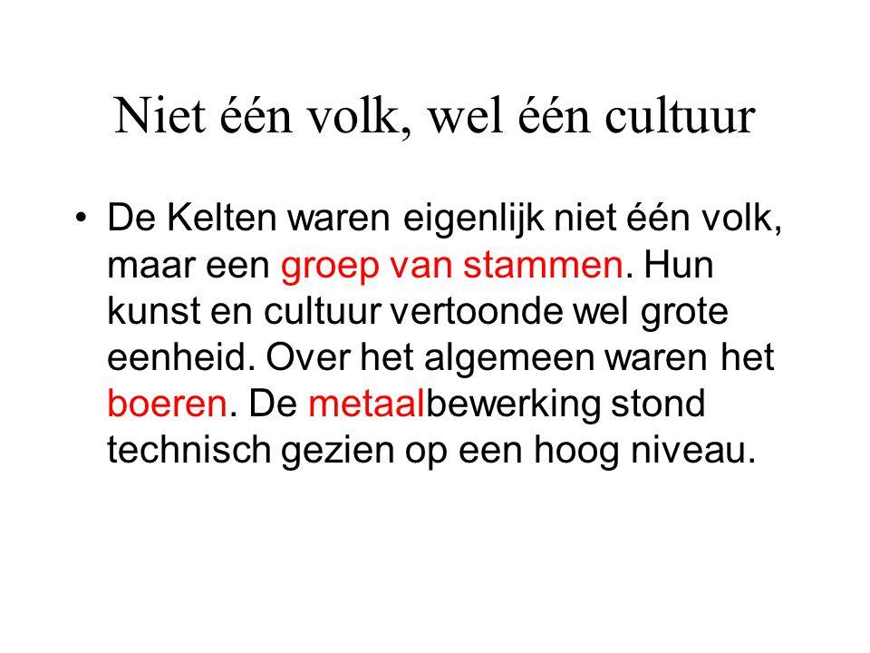 Niet één volk, wel één cultuur