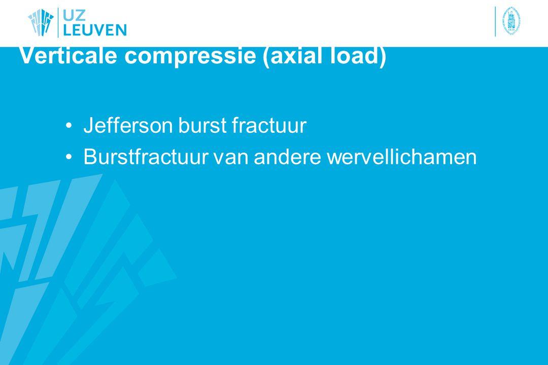 Verticale compressie (axial load)