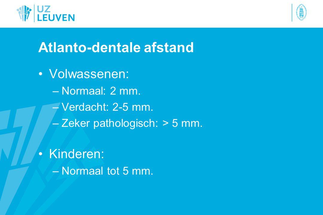 Atlanto-dentale afstand