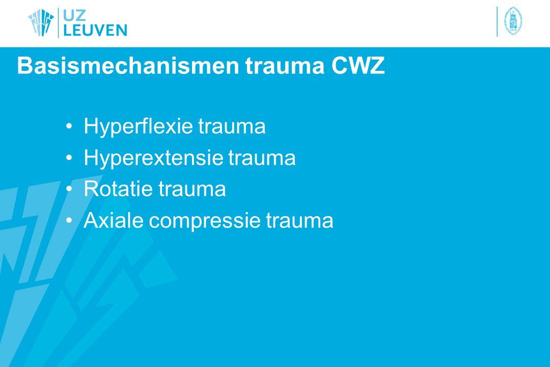 Basismechanismen trauma CWZ