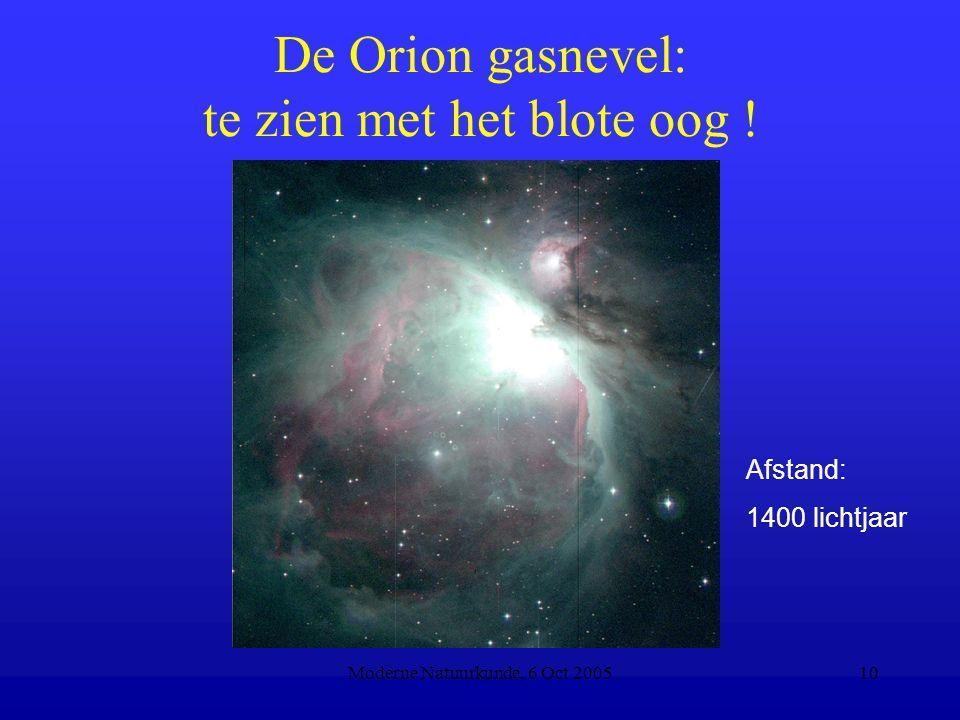 De Orion gasnevel: te zien met het blote oog !